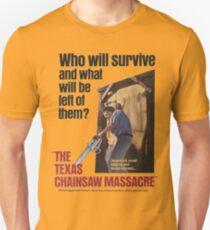 Texas Chainsaw Massacre Movie Poster Unisex T-Shirt