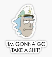 Rick and Morty Design Sticker