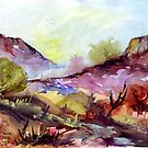Magaliesberg mountain range by Maree Clarkson