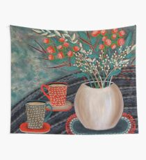 'Tea for Two' Wall Tapestry