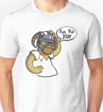 Skyrim - Fus Ro D'oh Unisex T-Shirt