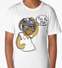 Skyrim - Fus Ro D'oh Long T-Shirt