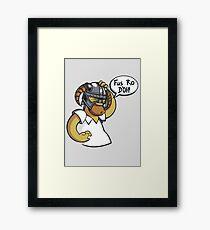 Skyrim - Fus Ro D'oh Framed Print