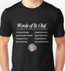 Words of St Olaf Unisex T-Shirt