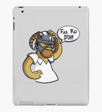 Skyrim - Fus Ro D'oh iPad Case/Skin