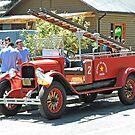 Chevrolet Fire Engine by Graeme  Hyde