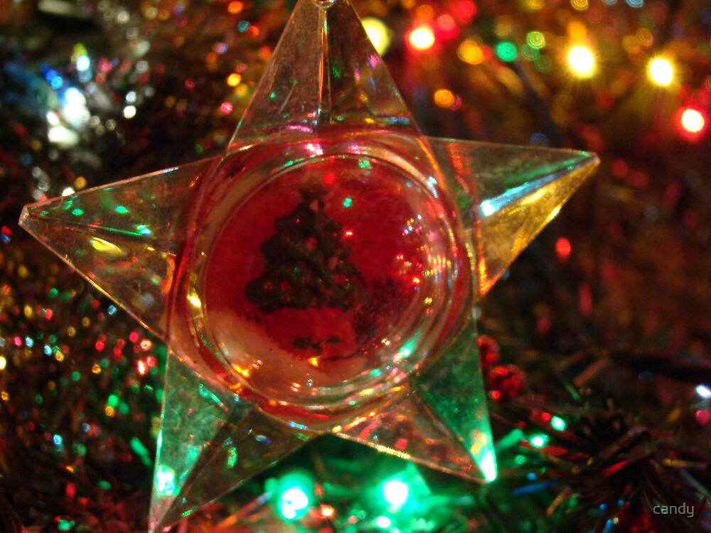 tree ornament by candy