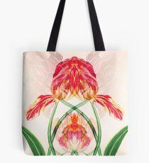kaleidoscope art noveau tulips Tote Bag