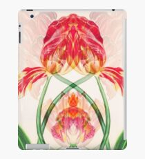kaleidoscope art noveau tulips iPad Case/Skin