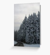 Hoarfrost Greeting Card