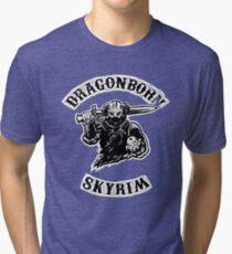 Skyrim - Dragonborn Tri-blend T-Shirt