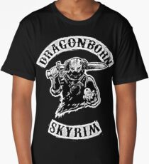 Skyrim - Dragonborn Long T-Shirt