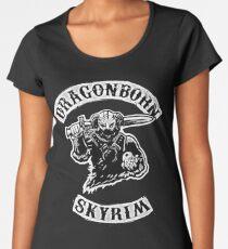 Skyrim - Dragonborn Women's Premium T-Shirt