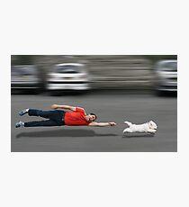 Canine education Photographic Print