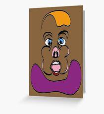 No6 Gluttony Greeting Card