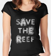 Save the Reef Women's Fitted Scoop T-Shirt