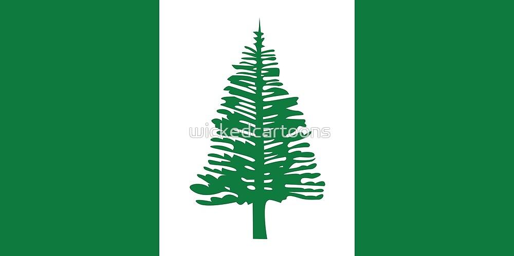 Norfolk Island by wickedcartoons