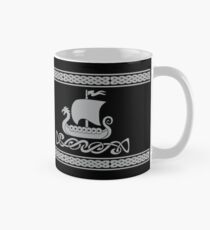 Dragon Boat - Silver Grey Mug