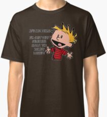 Calvin and Hobbes Reality Classic T-Shirt