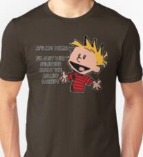 Calvin and Hobbes Reality Unisex T-Shirt