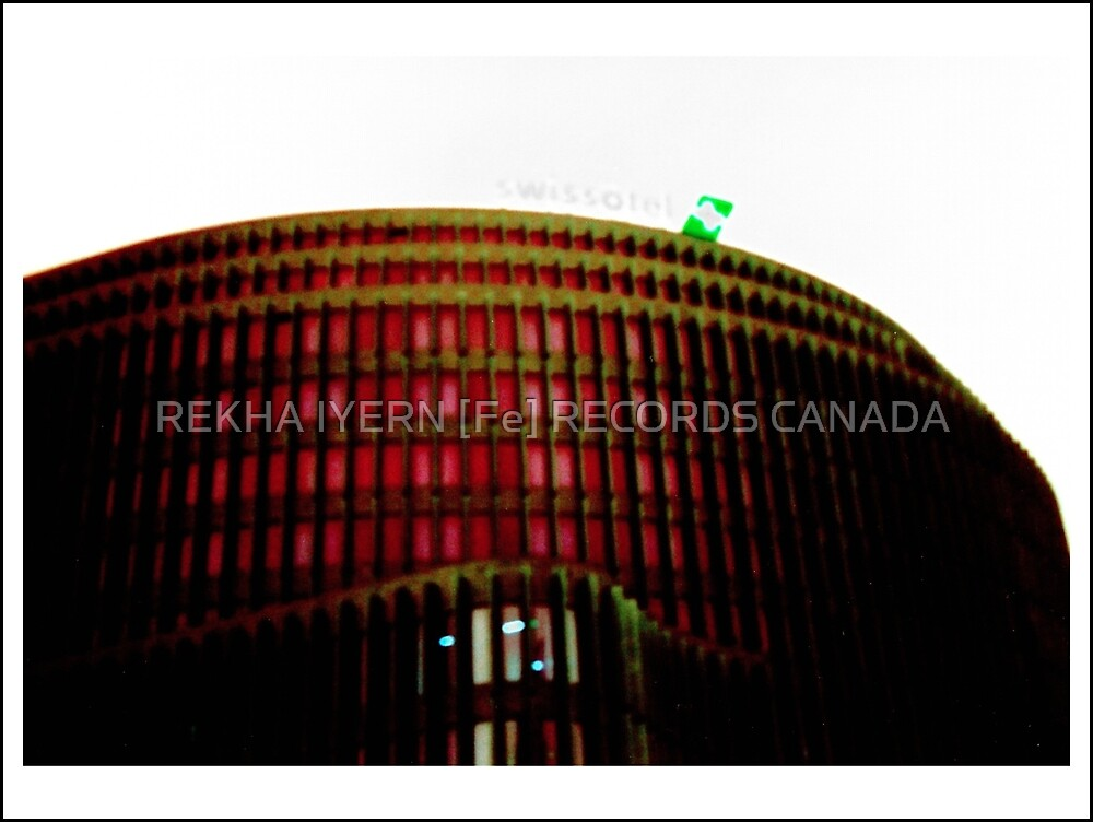 SWISS HOTEL FRONTAL VIEW by REKHA Iyern [Fe] Records Canada
