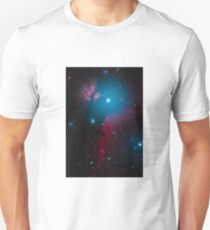 Flame and Horsehead Nebula Unisex T-Shirt