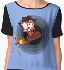 Freddy's Coming For You Chiffon Top