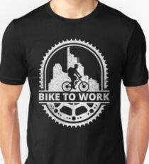 Bike To Work Unisex T-Shirt