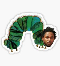 Kendrick Lamar x The Very Hungry Caterpillar Sticker