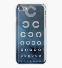 Optician Board iPhone Case/Skin