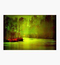 Mystic River Morning Photographic Print
