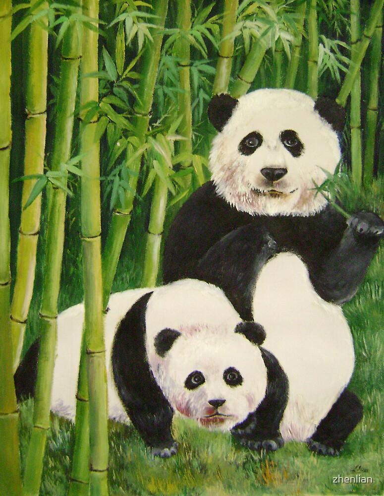 pandas 2 by zhenlian