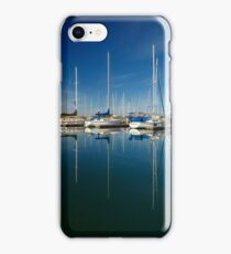 Boats And Masts iPhone Case/Skin
