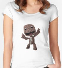 Little Big Planet Women's Fitted Scoop T-Shirt