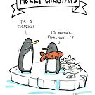 Christmas Penguins by RobStears