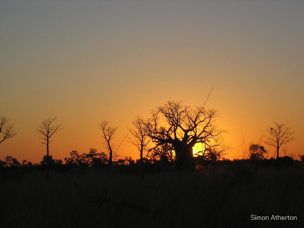 Boab Sunset by Simon Atherton