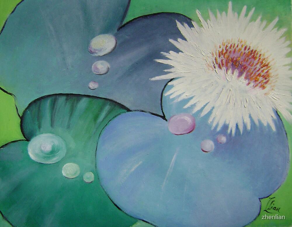 lily pond by zhenlian