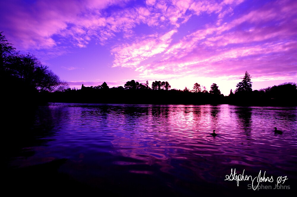 Waikato River by Stephen Johns