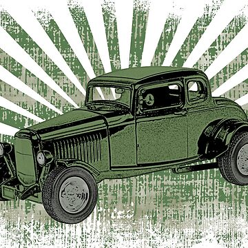 1932 Ford Coupe Hot Rod  by surgedesigns