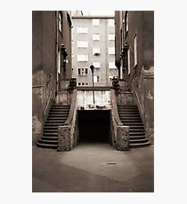 Twin Stairs Photographic Print