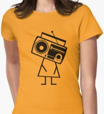 RADIO-FACE (Black) T-Shirt