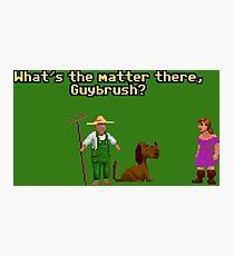 Guybrush? Photographic Print