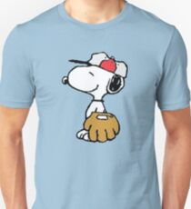 The Peanuts - Snoopy Baseball T-Shirt