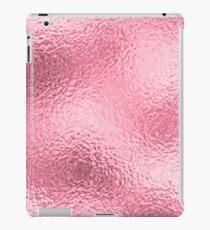 Pink Foil Paper iPad Case/Skin
