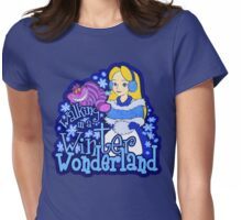 Winter Wonderland Womens Fitted T-Shirt