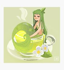 Green Tea Mermaid Photographic Print