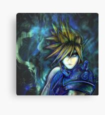 Cloud - charging limitbreak Canvas Print