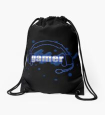 Gamer - Headphones Drawstring Bag