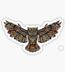 Trippy owl Sticker