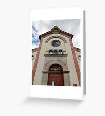 Synagogue of Bergheim Greeting Card